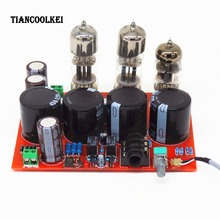 Amp earphone amplifier T4 biliary WFC pure bile ear tube headphone amplifier /power amplifier board +Transformer toroidal transformer copper custom transformer 115 230vac 220vac 120va dual 12v 15v transformer for pre amplifier board