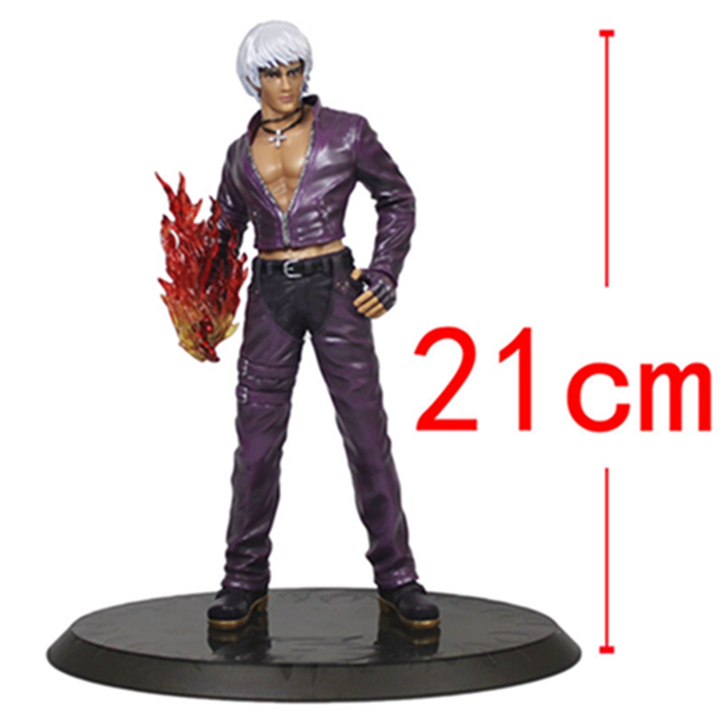 KOF The King of Fighters  K DASH Action Figure Collection Model Gifts Toys Collection Model кроссовки asics a kay0 gel lyte h5doy 5025 h505l 7890