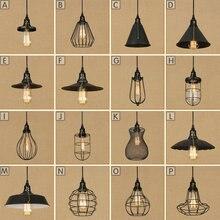 цена на Steam punk Loft Industrial iron rust birdcage retro wall lamp Vintage E27 sconce lights steampunk house lighting fixtures luz
