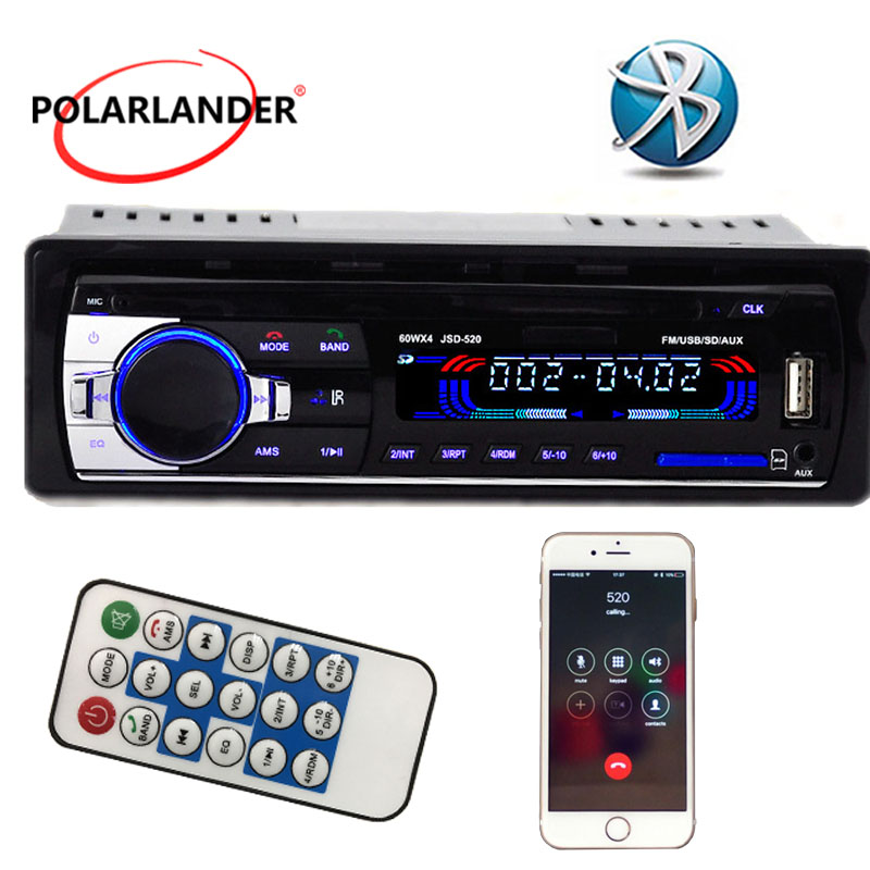 NEUE 12V Bluetooth Auto Stereo Radio MP3 Audio Player 5V Ladegerät/APE/FLAC/MP3/ FM/USB/SD/AUX-IN/Auto Elektronik In-Dash 1 DIN