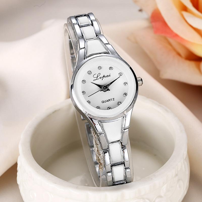 Quartz Stainless Steel Women's Watches