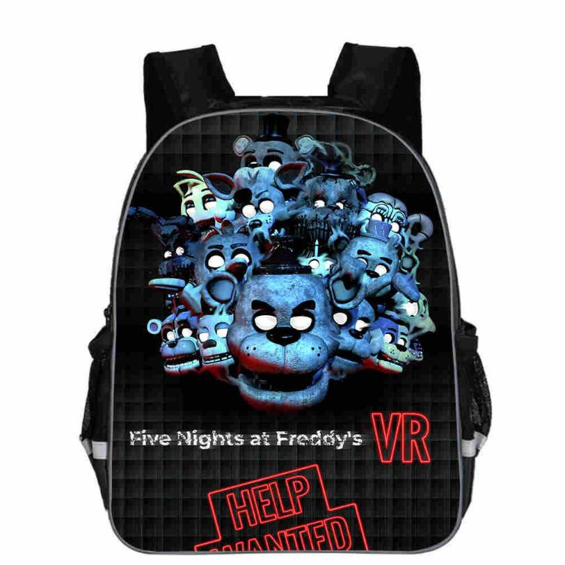 New Kids Five Nights At Freddys Backpacks Anime Fnaf Backpack Boys Girls School Bags Children Book Bag Mini Daily Backpack