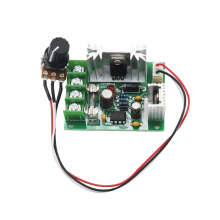 цена на 10A DC governor imported high power speed control board 12V24V motor controller regulator speed switch