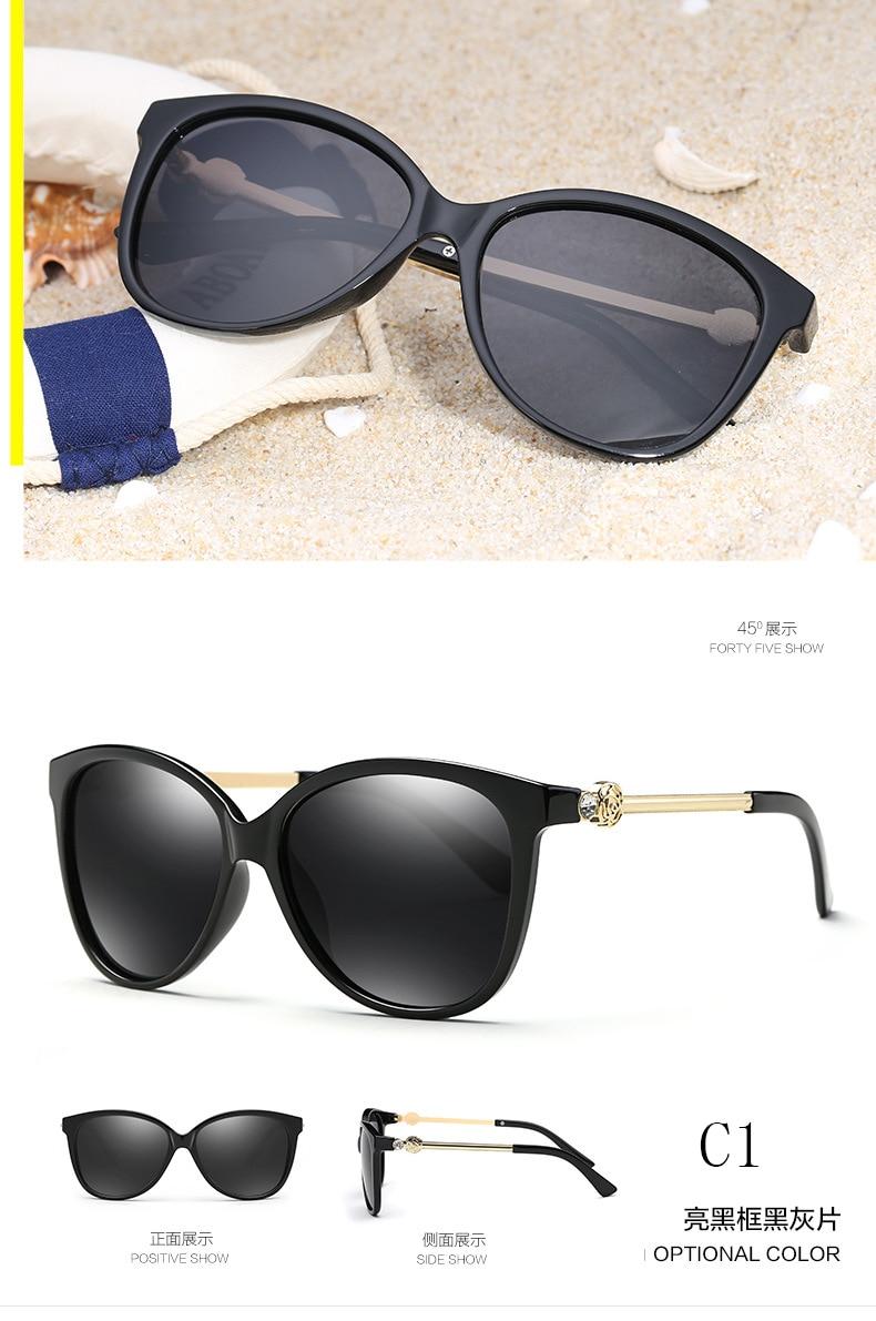 Lvvkee persegi sunglasses Wanita Desainer Kacamata Wanita - Aksesori pakaian - Foto 3