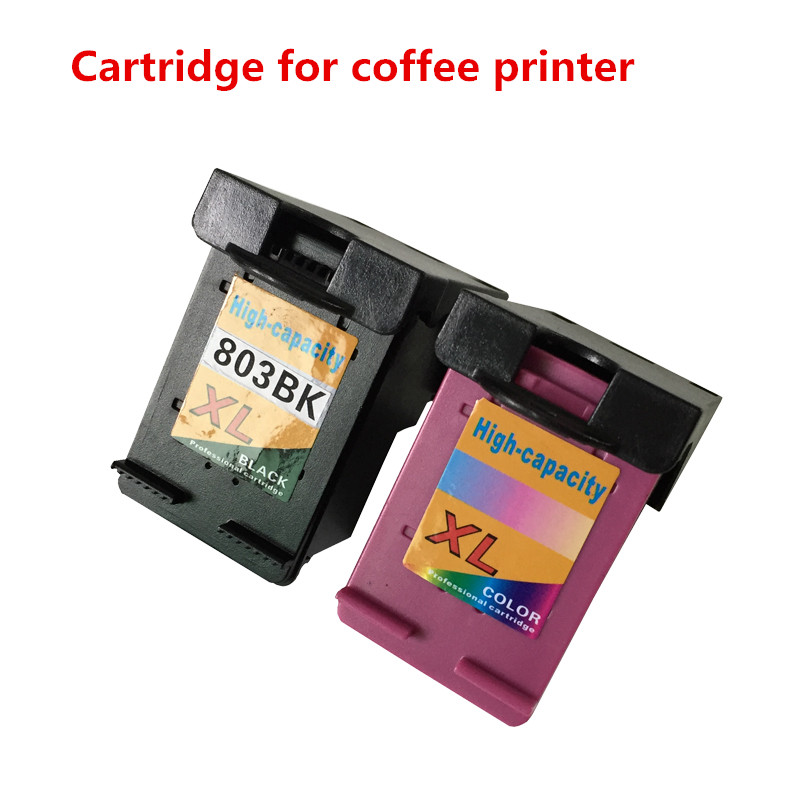 Edible Ink cartridge empty For coffee printer for Epson Hp Inkjet Printer For Cake Chocolate coffee & food printer Cartridge ink cartridge for lexmark 16 10n0016 printer x1180 x1185 x1190 x1196 x1250 x1270 x2225 x2230 x2250 x3300 x3315 x72 x74 x75 m z13