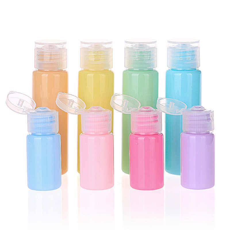 Silicone Refillable Portable Mini Empty Cosmetic Container Perfume Travel Packing Bottle Lotion Gel Cream Shampoo Shower Gel