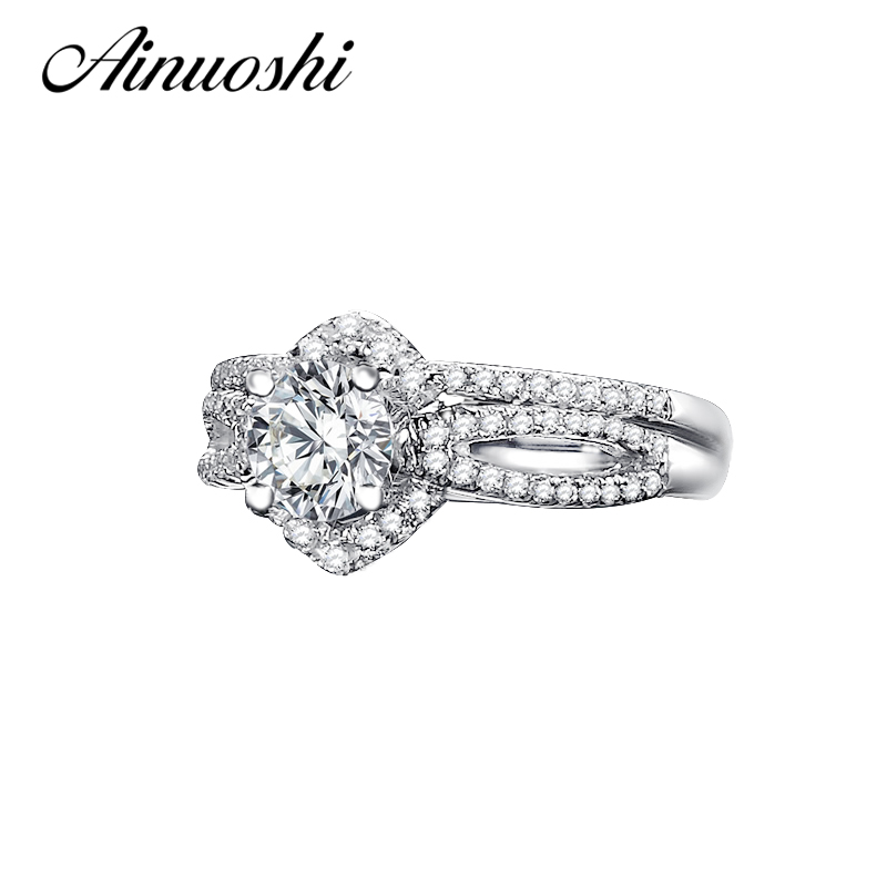 Aliexpress.com : Buy AINUOSHI Solid 925 Sterling Silver