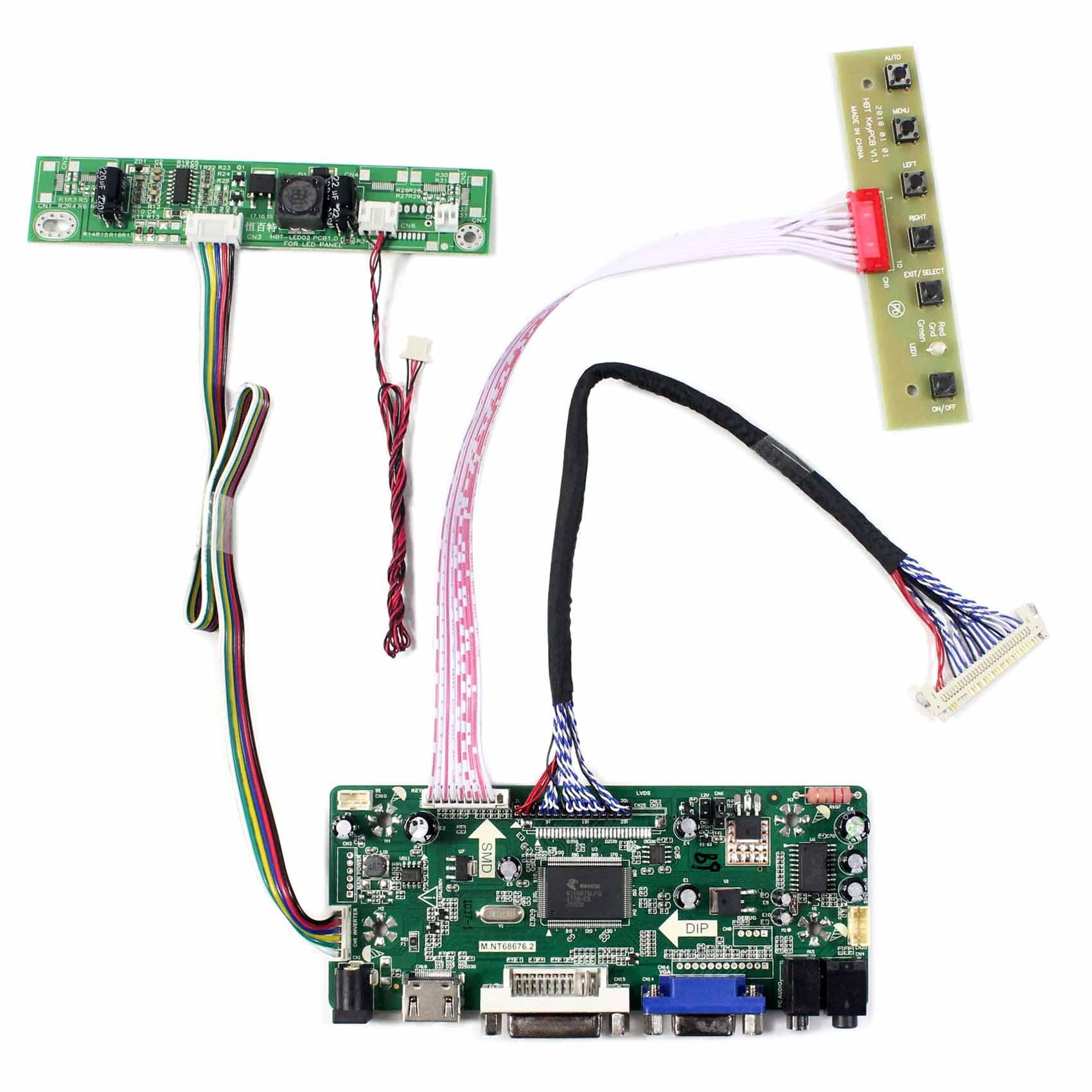 HDMI Controller Board For 23inch  LTM230HT09 LTM230HT10 LTM230HT11 LTM230HT12 HDMI DVI VGA AUDIO LCD Driver Board HDMI Controller Board For 23inch  LTM230HT09 LTM230HT10 LTM230HT11 LTM230HT12 HDMI DVI VGA AUDIO LCD Driver Board