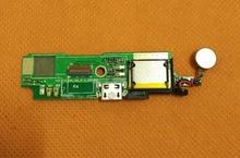"""사용 된 원래 usb 플러그 충전 보드 bluboo 피카소 mtk6580 쿼드 코어 5.0 """"hd 1280x720 무료 배송"""