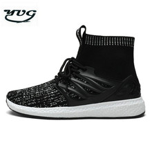 YUG 2017 New Men Top Quality Running Shoes For Best Trends Run Athletic Trainers Zapatillas Sports Shoe Flying High Sneakers AM7