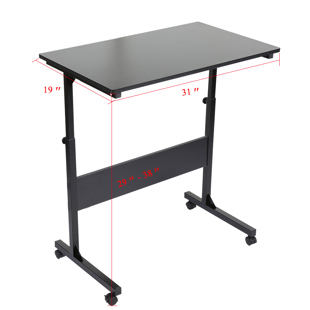 Imported From Abroad Lifting Mobile Computer Desk Bedside Sofa Bed Notebook Desktop Stand Table Learning Desk Folding Laptop Table Adjustable Table Furniture Office Furniture