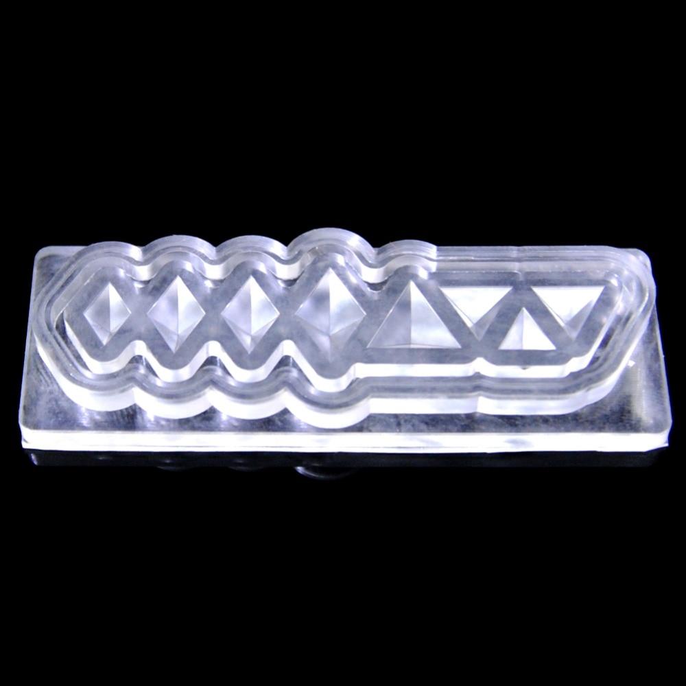 6 Muster Haltbare 3D Silikon Acryl Nagel Form Vorlage Für Nail art ...