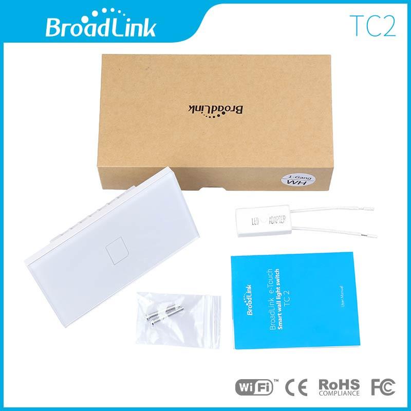 US-Standard-Broadlink-TC2-2-Gang-Wireless-Remote-Control-Wifi-Wall-Light-Touch-Screen-Switch-170V (4)