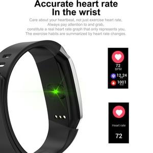Image 4 - Fitness Armband Smart Uhr Männer Frauen Sport Band Fitness Tracker Smartband Blutdruck Wasserdichte Smartwatch Sport Armband Männer der Armbanduhr