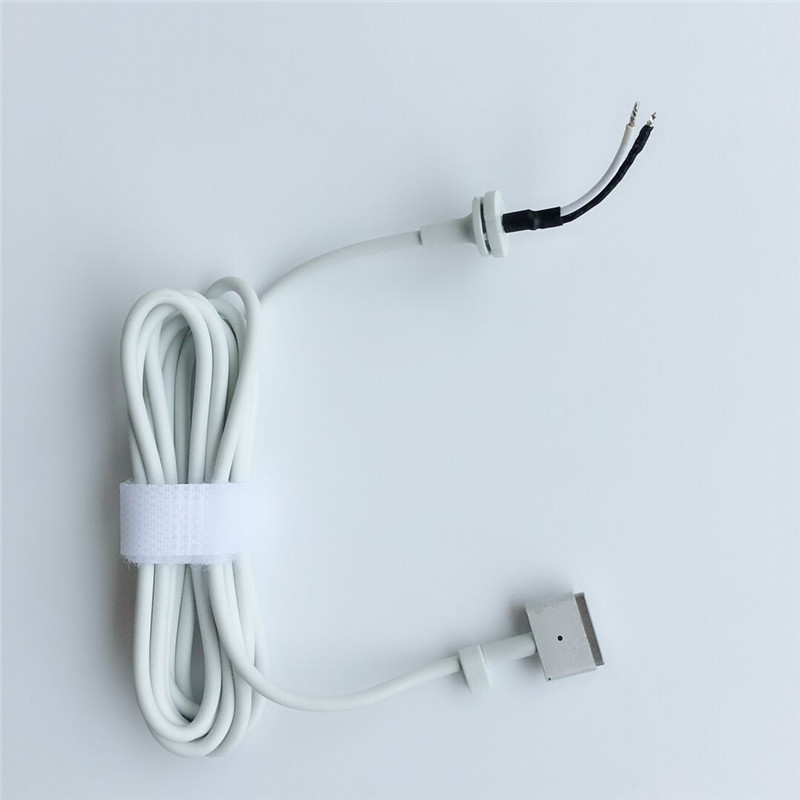 NEW! Replacement 175cm T tip Magnetic Cable Cord FOR Magsaf* 2 Apple Macbook Retina Pro Air 45W 60W 85W Power Adapter Chargers