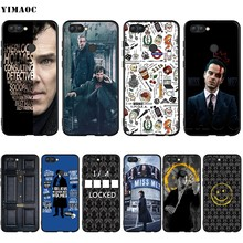 YIMAOC 221B Sherlock Benedict สำหรับ Huawei Mate 30 20 Honor Y7 7a 7c 8c 8x9 10 Nova 3i 3 Lite Pro Y6 2018 P30 P(China)