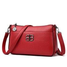 Sacs à main en cuir véritable pour femmes, sacs à bandoulière élégants, petit sac à épaule tendance, nouvelle collection 2019