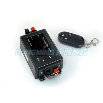 5pcs/lot LED Dimmer Controller RF 8A Current DC 5V-24V Single Color Light Dimmer Plastic Free fedex