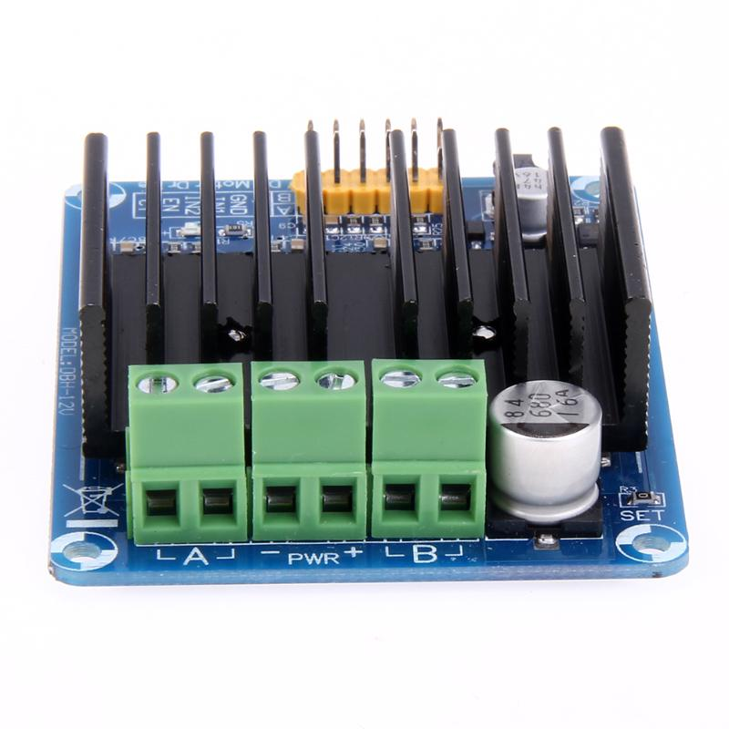 1 pc Dual Channel H Bridge DC Stepper Motor Drive Controller Board Module 30A 5V-15V 5v 2 channel ir relay shield expansion board module for arduino with infrared remote controller