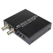 Scaler  Converter  HDMI to 2 port SDI  BNC  3G/HD/SD-SDI SDI  Scaler  Audio Video  Signal  Adapter  for Driving HDMI Monitors one piece hdmi to sdi video converter one pieces sdi to hdmi video converter adapter bnc sdi hd sdi 3g sdi 2 970 gbit s