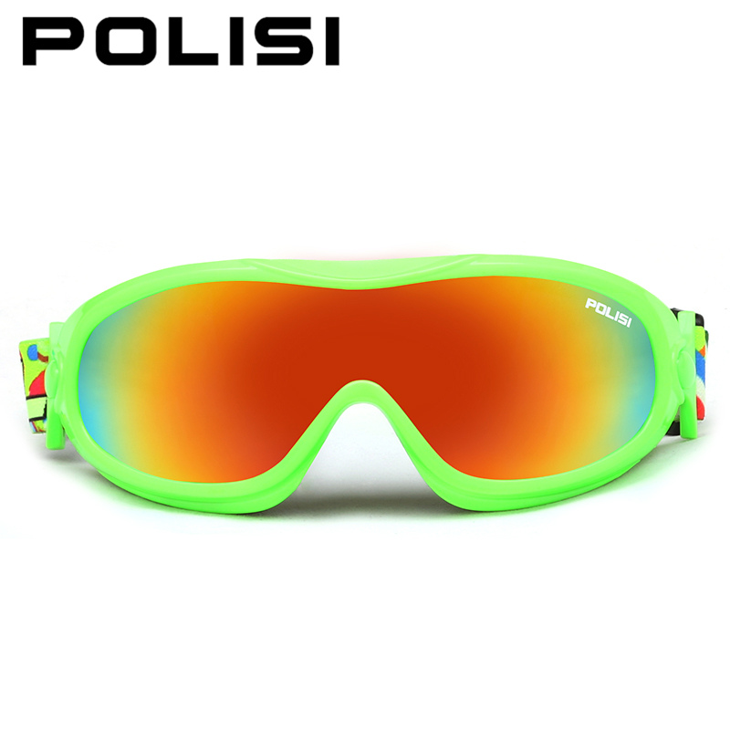 Prix pour POLISI Ski Snowboard Patinage Lunettes Hommes Femmes Coupe-Vent Moto Neige Lunettes UV400 Anti-Brouillard Ski Alpinisme Lunettes