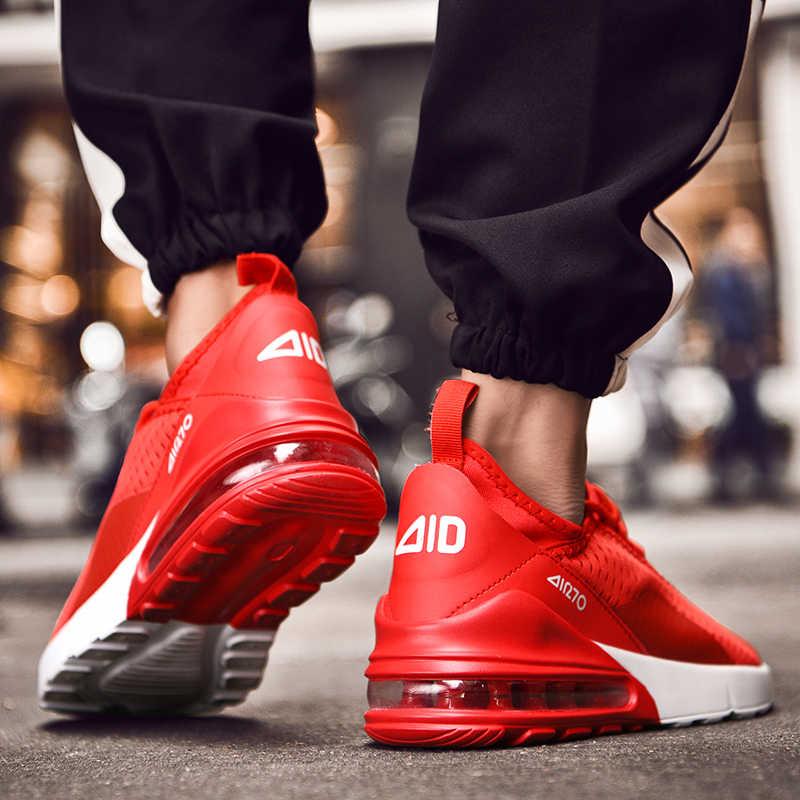 2019 Zomer Casual Schoenen Mannen 2019 Mannelijke Loopschoenen Ademend Mesh Sport Mannen Sneakers Platte Outdoor Schoenen Trainers 46