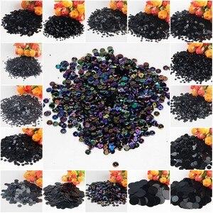 20g Paillettes Black Sequins F