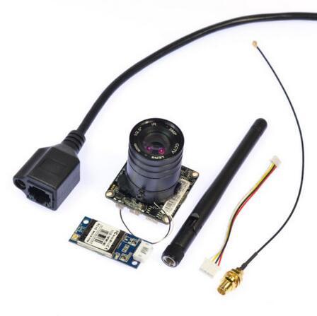 ФОТО NEW 1.0MP 720P IP Camera Network P2P Onvif WIFI CCTV Wide Angle Wireless Outdoor Camera 2.8mm lens