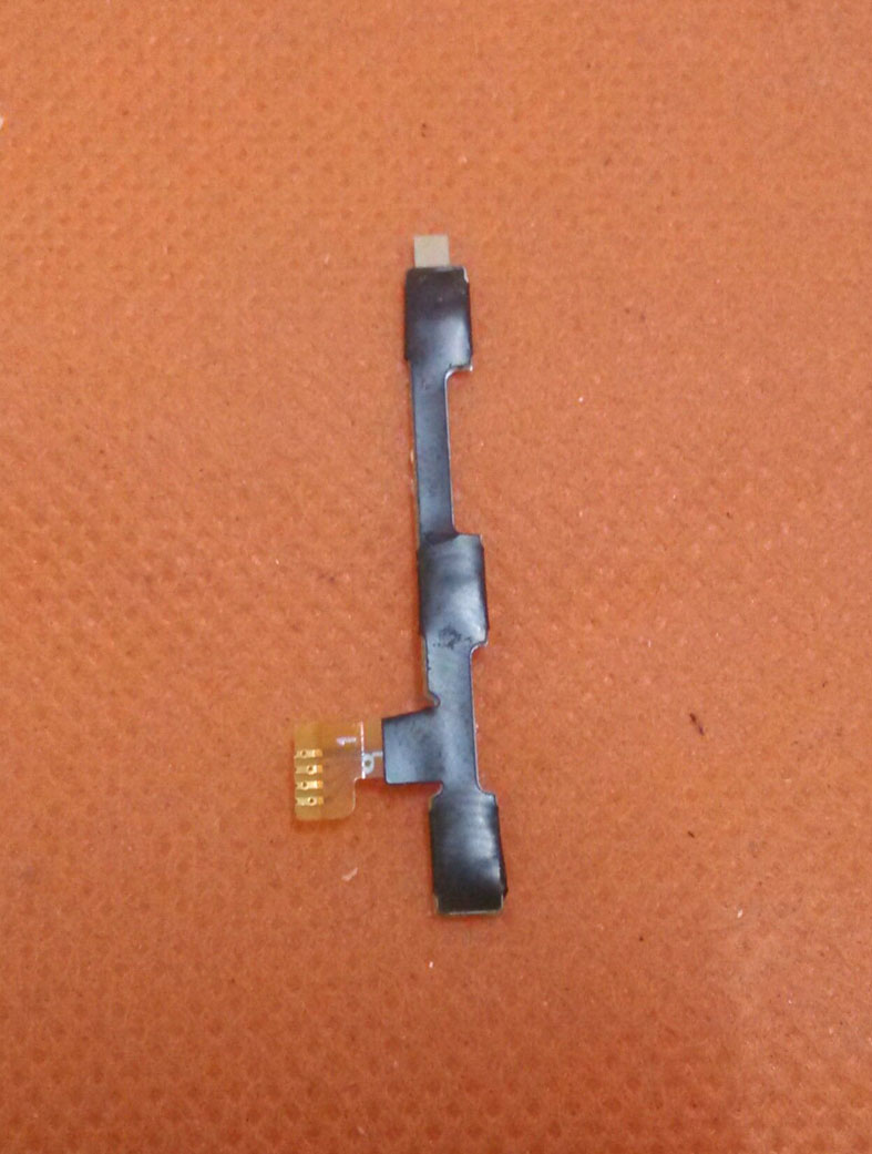 Original Power On Off Button Volume Key Flex Cable FPC For Elephone Trunk Qualcomm font b