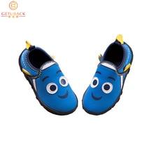 2017 Nouvelle Arrivée Enfants de Bande Dessinée Toile Shoes Marque Garçons et Filles Skid Pois Shoes Casual Confortable Survêtement pour Enfants, RJ357