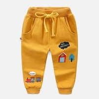 Штаны для мальчиков; одежда для детей; детские брюки на осень-зиму; Свободные повседневные хлопковые мягкие шаровары на шнуровке; повседнев...