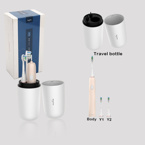 Image 3 - Family Travel kit Electric Toothbrush Rechargeable Tooth Brush Electric Automatic Wireless Charging sonic kids Electric Brush