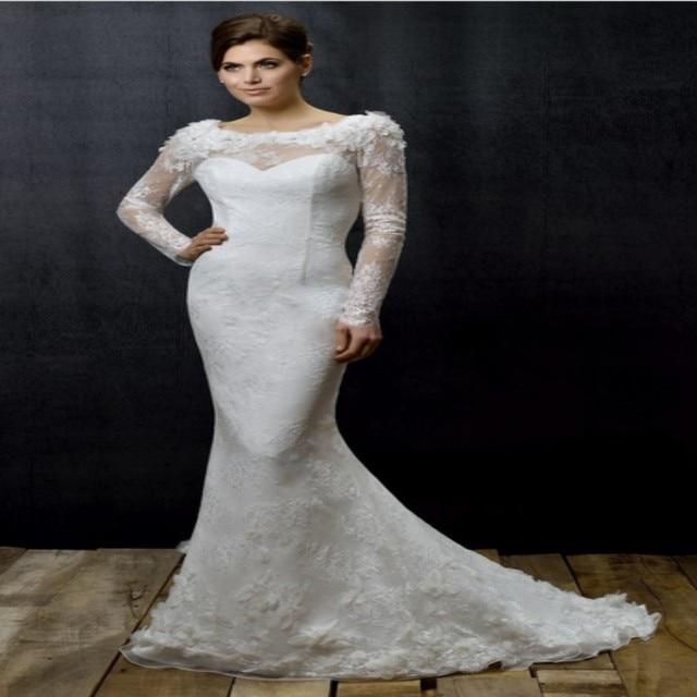Elegant Vintage Scoop Boho Bohemian Bridal Gown Lace Hippie ...