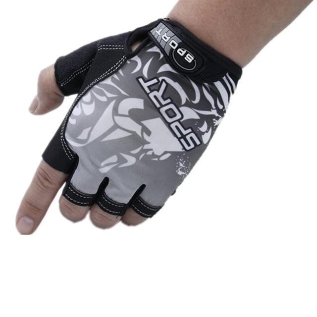 Mounchain דיג כפפות החלקה לנשימה Ultrathin יוניסקס חצי אצבע כפפת קמפינג דיג קרפיון ציוד guantes דה pesca