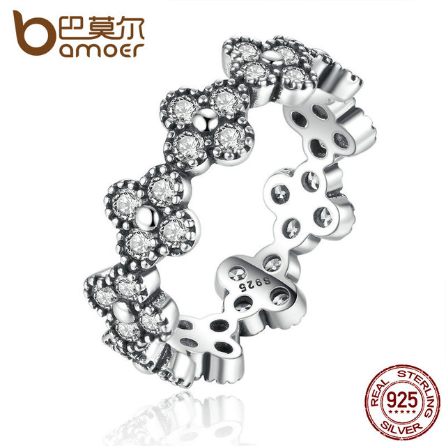 Sterling Silver Oriental Blossom Ring