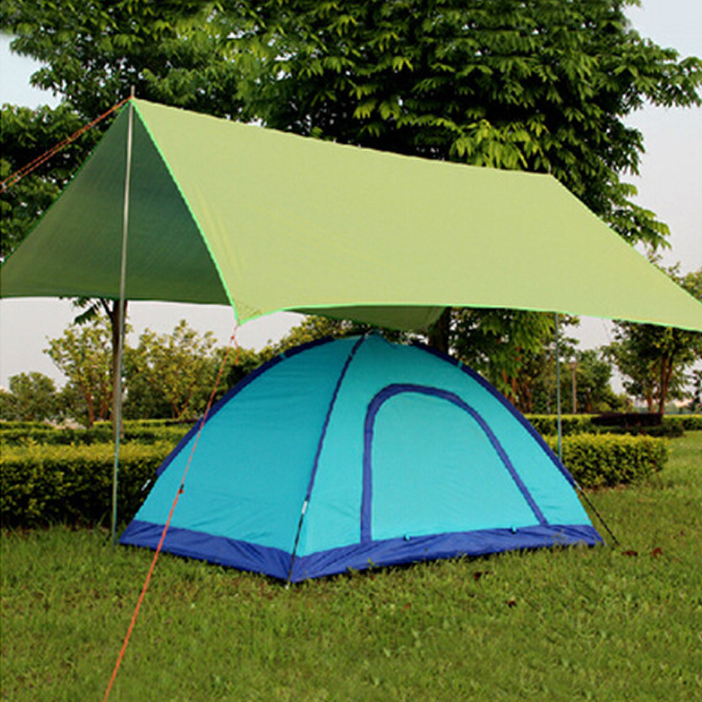 Tarp Waterproof Picnic Ultralight Tent Sun Shelter Beach Mat Anti-UV Garden Blanket Outdoor Camping Awning Canopy Sunshade