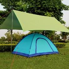 Tarp Su Geçirmez Piknik Ultralight Çadır Güneş Barınak Plaj Mat Anti UV Bahçe Battaniye Açık Kamp Tente Gölgelik Güneşlik