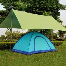 Tarp Waterdichte Picknick Ultralight Tent Zon Onderdak Strand Mat Anti Uv Tuin Deken Outdoor Camping Luifel Luifel Zonnescherm