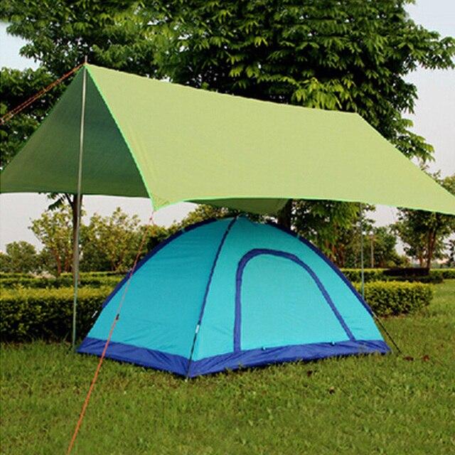 Tarp Waterproof Picnic Ultralight Tent Sun Shelter Beach Mat Anti UV Garden Blanket Outdoor Camping Awning Canopy Sunshade