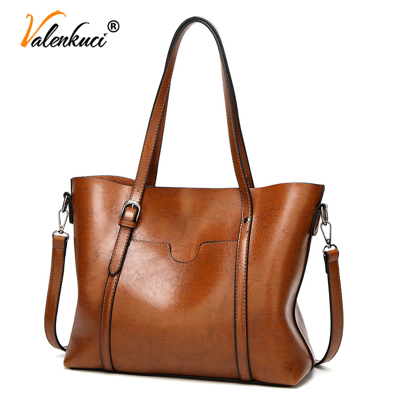 bolsa grande, bolso, bandolera, tarjetero Conjunto de bolsa de cuero de PU de 4 piezas con asa superior para mujer