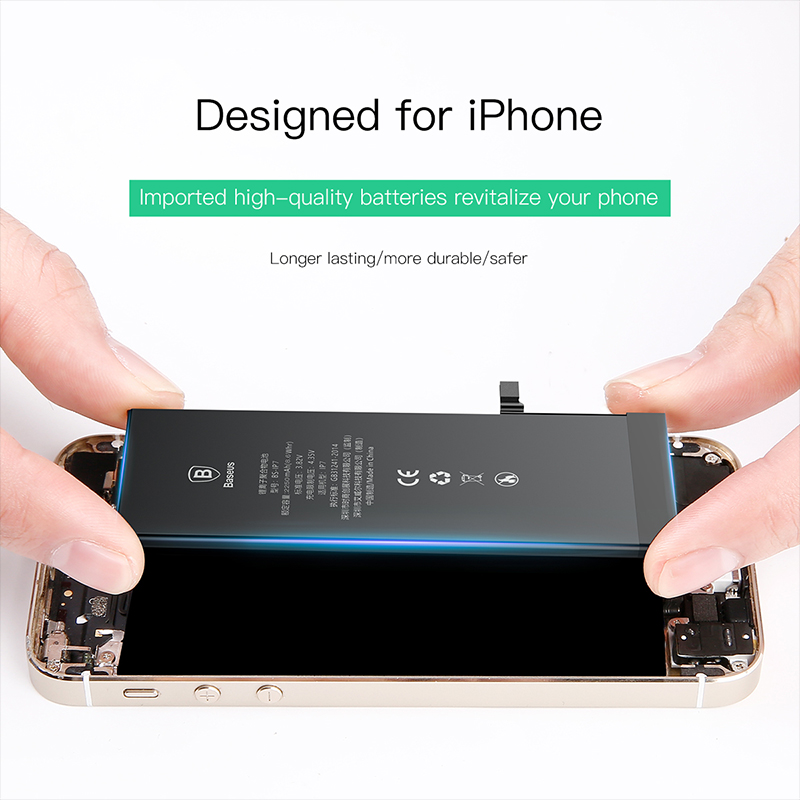 Image 5 - For iPhone 7 7 Plus 7plus Battery Baseus Mobile Phone Battery High Capacity Bateria Original Replacement Batterie For iPhone7 7p-in Mobile Phone Batteries from Cellphones & Telecommunications