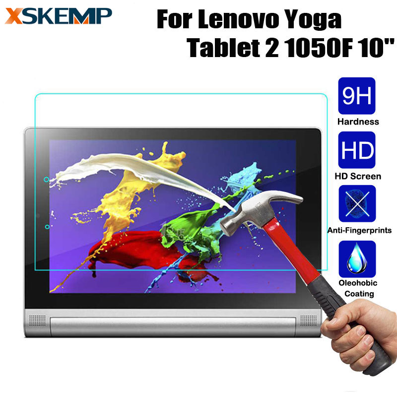 Clear PET Film LCD Screen Protection For Lenovo Yoga Tablet 2 10.1/' 1050F