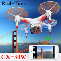 FPV Cheerson CX 30W CX30W 4CH 2 4GHz Quadcopter With Real Time Video HD Camera RC