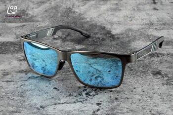 d826fed080 CLARA VIDA 2018 nueva cuestión azul hielo polarizadas lentes de espejo de  aluminio con MAGNEISUM de
