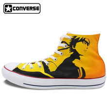 Anime Uzumaki Converse Hand-Painted Sneakers