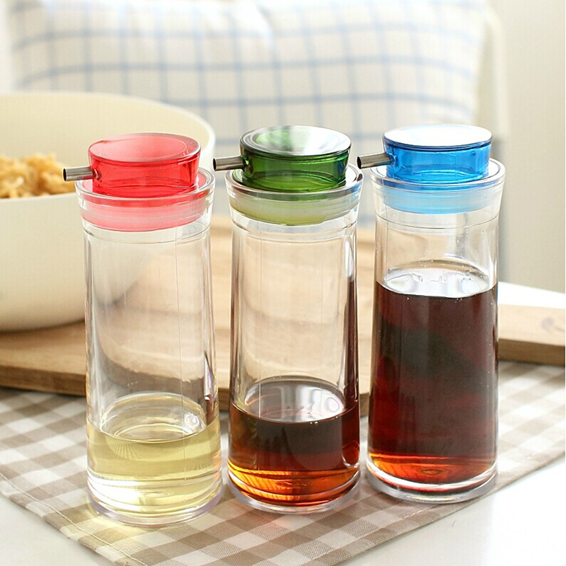Online Shop Sealed Leak Proof Kitchen Oil Bottle Adjustable Plastic Spice  Jar Oil Vinegar Bottles Container Kitchen Accessories | Aliexpress Mobile