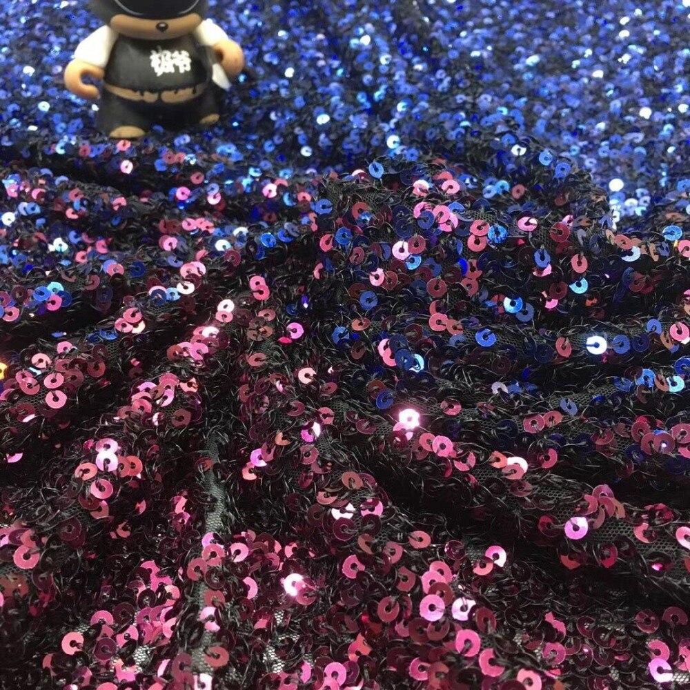 CiCi 3.406 modne cekiny tiul koronka haft francuski koronki tkaniny netto na sukienka na imprezę w Koronka od Dom i ogród na  Grupa 2