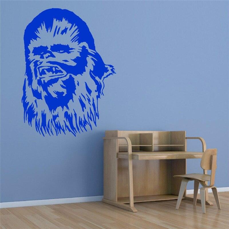 New Arrivals Autumn Vaca Star Wars gum vinyl wall stickers Art Mural wall decals home decoration film