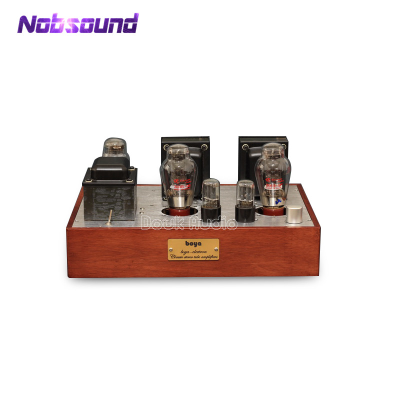 Nobsound Hi-end 300B Vacuum / Valve Tube Amplifier Audio Single-ended HiFi Integrated Stereo Power Amp 2017 new nobsound hifi hi end audio noise power purifier tube amplifier home audio power supply filter ac socket