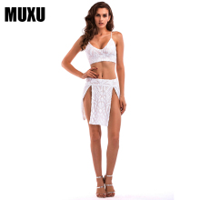 MUXU summer sexy patchwork white sequin dress glitter backless womens clothing jurk bodycon fashion dresses two piece set